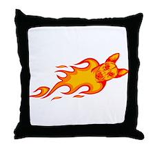 Jindo Throw Pillow