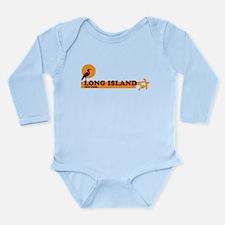 Long Island - New York Long Sleeve Infant Bodysuit