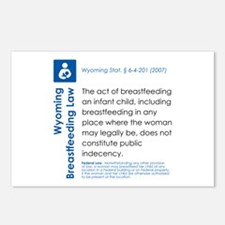 Breastfeeding In Public Law - Wyoming Postcards (P