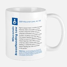 Breastfeeding In Public Law - Wisconsin Mugs