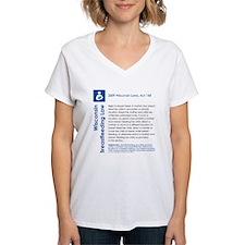 Breastfeeding In Public Law - Wisconsin T-Shirt