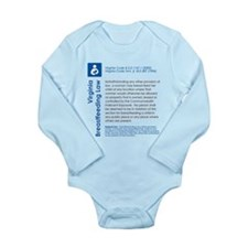 Breastfeeding In Public Law - Virginia Body Suit
