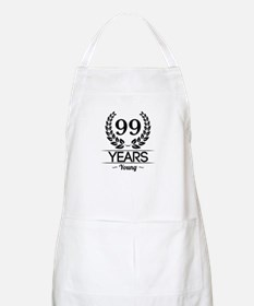 99 Years Young Apron
