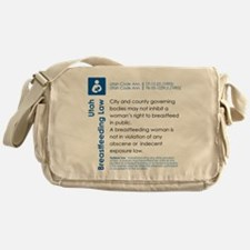 Breastfeeding In Public Law - Utah Messenger Bag