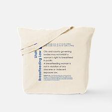 Breastfeeding In Public Law - Utah Tote Bag