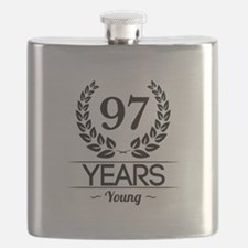97 Years Young Flask