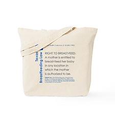 Breastfeeding In Public Law - Texas Tote Bag