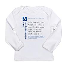 Breastfeeding In Public Law - Texas Long Sleeve T-