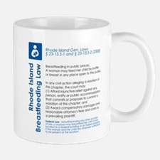 Breastfeeding In Public Law - Rhode Island Mugs