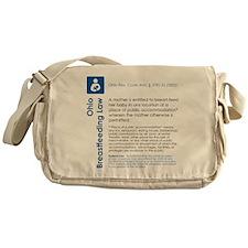 Breastfeeding In Public Law - Ohio Messenger Bag