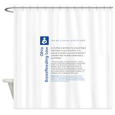Breastfeeding In Public Law - Ohio Shower Curtain