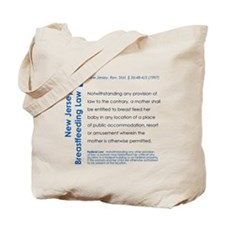 Breastfeeding In Public Law - New Jersey Tote Bag