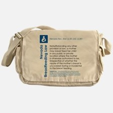 Breastfeeding In Public Law - Nevada Messenger Bag