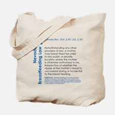 Breastfeeding In Public Law - Nevada Tote Bag