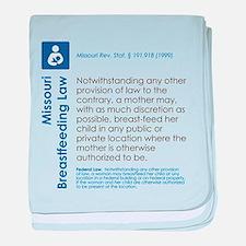 Breastfeeding In Public Law - Missouri baby blanke