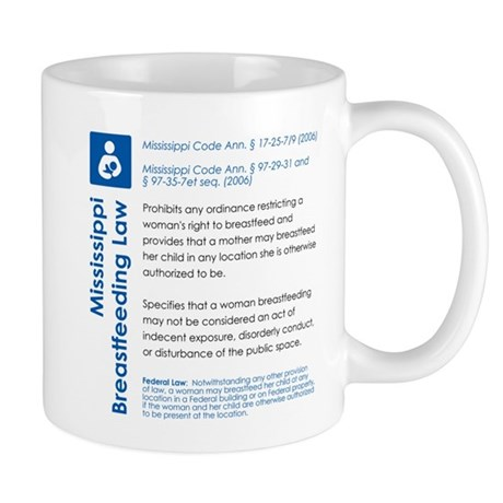 Breastfeeding In Public Law - Mississippi Mugs