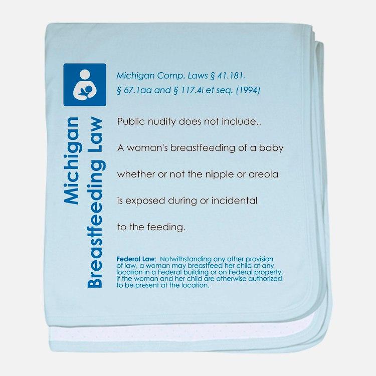 Breastfeeding In Public Law - Michigan baby blanke