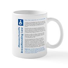 Breastfeeding In Public Law - Massachusetts Mugs