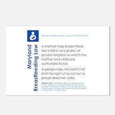 Breastfeeding In Public Law - Maryland Postcards (