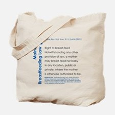 Breastfeeding In Public Law - Maine Tote Bag