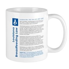 Breastfeeding In Public Law - Louisiana Mugs