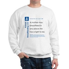 Breastfeeding In Public Law - Kansas Sweatshirt
