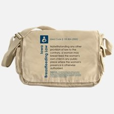 Breastfeeding In Public Law - Iowa Messenger Bag
