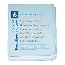 Breastfeeding In Public Law - Indiana baby blanket