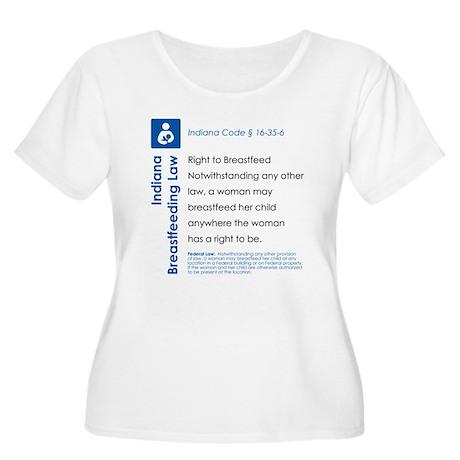 Breastfeeding In Public Law - Indiana Plus Size T-