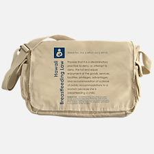 Breastfeeding In Public Law - Hawaii Messenger Bag