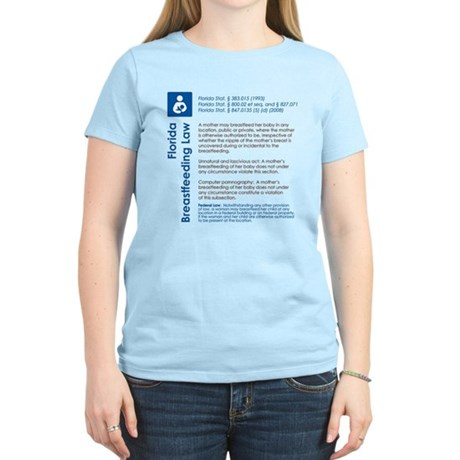 Breastfeeding In Public Law - Florida T-Shirt