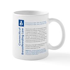 Breastfeeding In Public Law - Connecticut Mugs