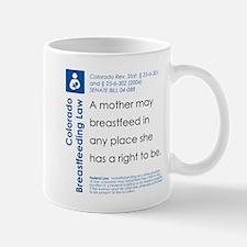 Breastfeeding In Public Law - Colorado Mugs