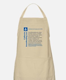 Breastfeeding In Public Law - California Apron