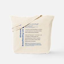 Breastfeeding In Public Law - Arkansas Tote Bag