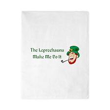 Leprechauns Make Me Do It Twin Duvet