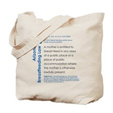 Breastfeeding In Public Law - Arizona Tote Bag