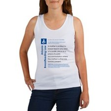 Breastfeeding In Public Law - Arizona Tank Top