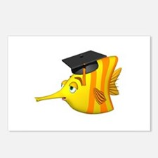 Graduation Fish Postcards (Package of 8)