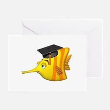 Graduation Fish Greeting Cards (Pk of 10)