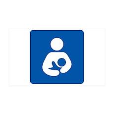 Breastfeeding Icon-High Quality Wall Decal