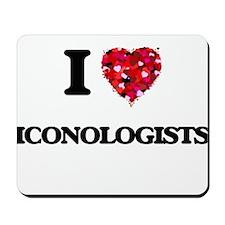I love Iconologists Mousepad