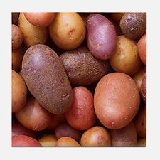 Potatoes Tile Coaster