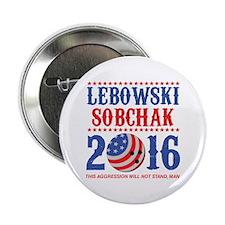 """Lebowski Sobchak 2016 2.25"""" Button"""