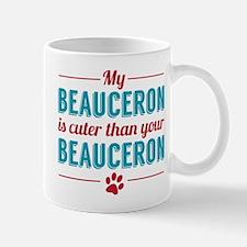 Cuter Beauceron Mugs