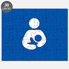 breastfeeding icon rectangle Puzzle