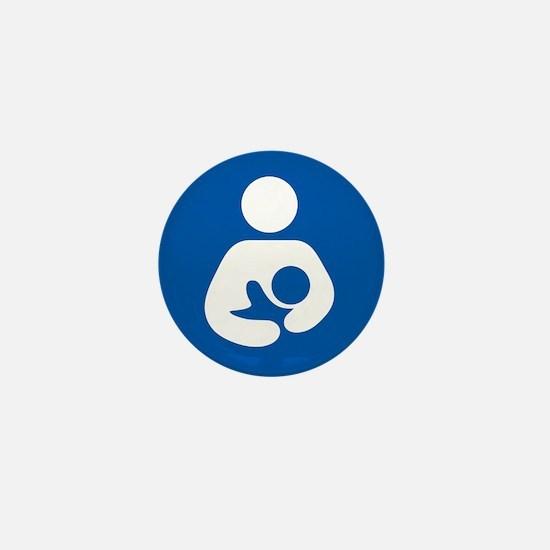 breastfeeding icon rectangle Mini Button