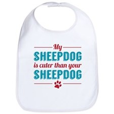 Cuter Sheepdog Bib