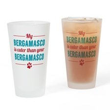 My Bergamasco Drinking Glass
