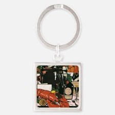 Vintage Fancy Foods Keychains